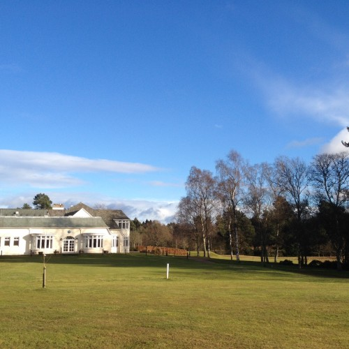 The Clubhouse at Rosemount golf course Blairgowrie