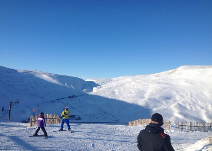 The Glenshee Snowsports Centre, a short drive North on the A93,  is the largest of Scotland's 5 Ski resorts