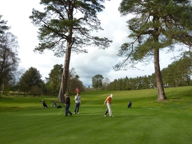 Playing Golf in Perthshire