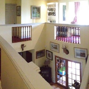 Upstairs landing at Park House