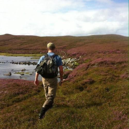 Fishing in the Perthshire mountains