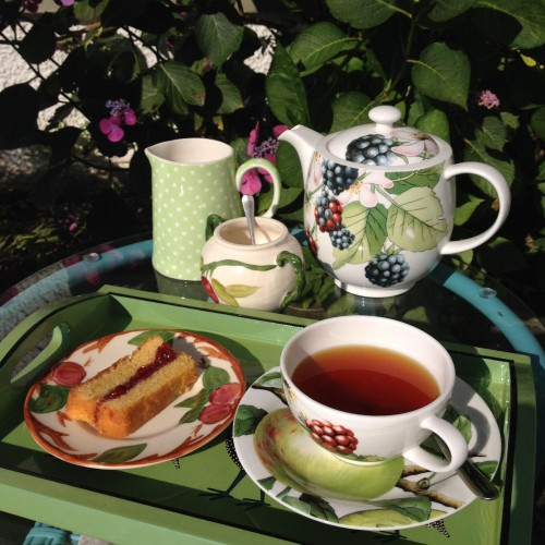 Afternoon Tea in the garden at Park House